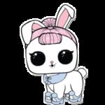 PETS LOL Surprise Crystal Bunny