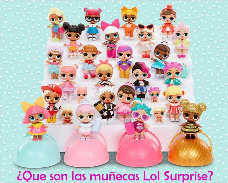 muñecas lol surprise