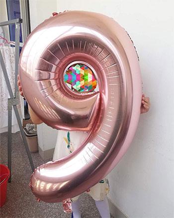 cumpleaños lol surprise decoración